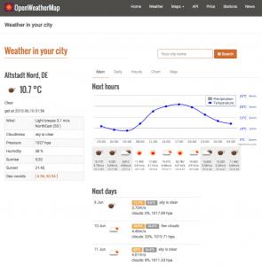 Wetter-API