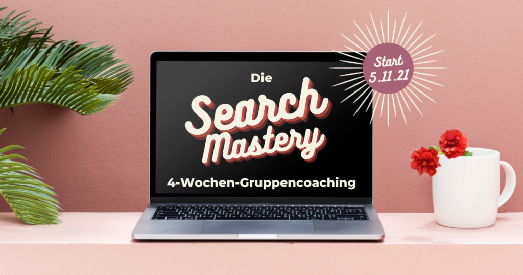 Search Mastery Gruppencoaching